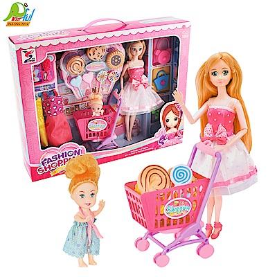 Playful Toys 頑玩具 實心芭比推車組