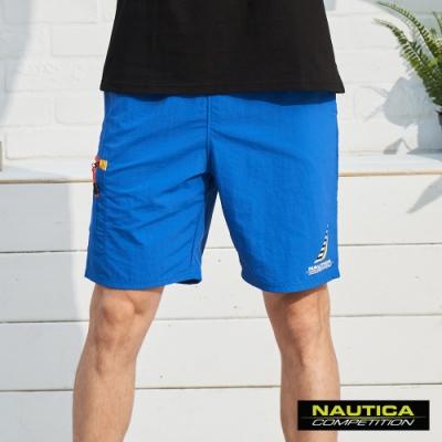 Nautica COMPETITION抽繩休閒褲-藍色