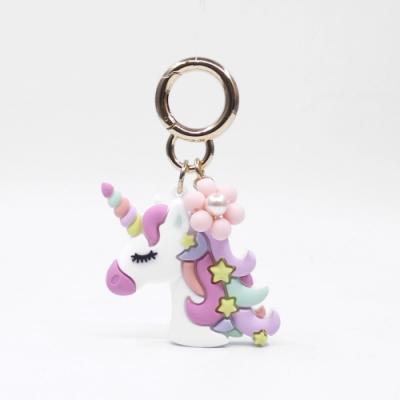 【Candies】Happy Charm 花朵獨角獸鑰匙圈