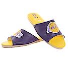 魔法Baby NBA授權騎士隊室內拖鞋-黃紫sk0436
