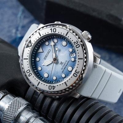 SEIKO 精工 Prospex 愛海洋 企鵝漫步 200米潛水機械錶(SRPG59K1/4R35-04Z0H)