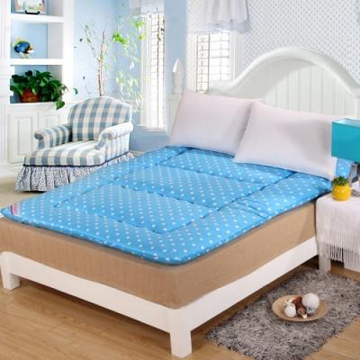 涼感精梳棉日式收納床墊 - 單人