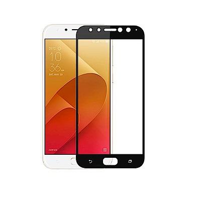 PKG ASUS ZF4 Selfie Pro ZD552KL保護貼-全滿版玻璃-黑色面板