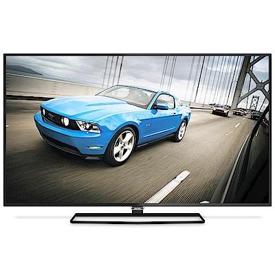 福利品-PHILIPS飛利浦 55吋 4K 連網液晶顯示器+視訊盒 55PUH6600