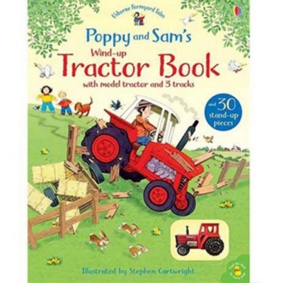 Poppy And Sam's Wind-Up Tractor Book 帕皮和山姆的農場拖拉車