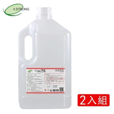 【醫強】75%潔用酒精(4Lx2桶)