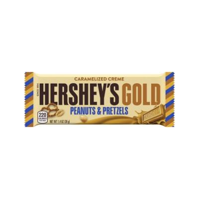 好時 Hersheys 黃金花生蝴蝶卷餅巧克力片裝(39g)