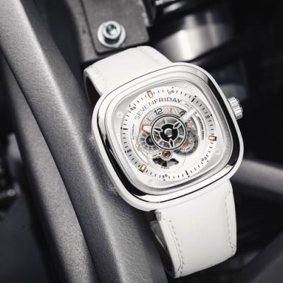 SEVENFRIDAY P1C-01 系列 設計師工藝自動上鍊機械錶