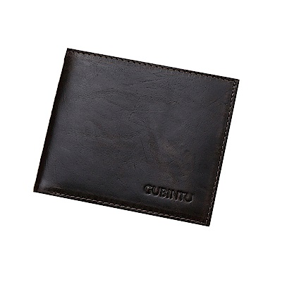 GUBINTU GT0364BR復古真皮錢包皮夾咖啡色