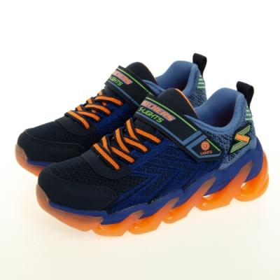 SKECHERS 男童系列 MEGA SURGE 燈鞋 - 400130LNVOR
