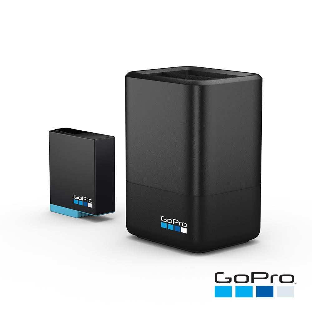 GoPro-HERO6 /7 /8 雙電池充電器+電池AJDBD-001
