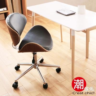 Cest Chic_Krakauer克拉庫爾皮質古典電腦椅-黑