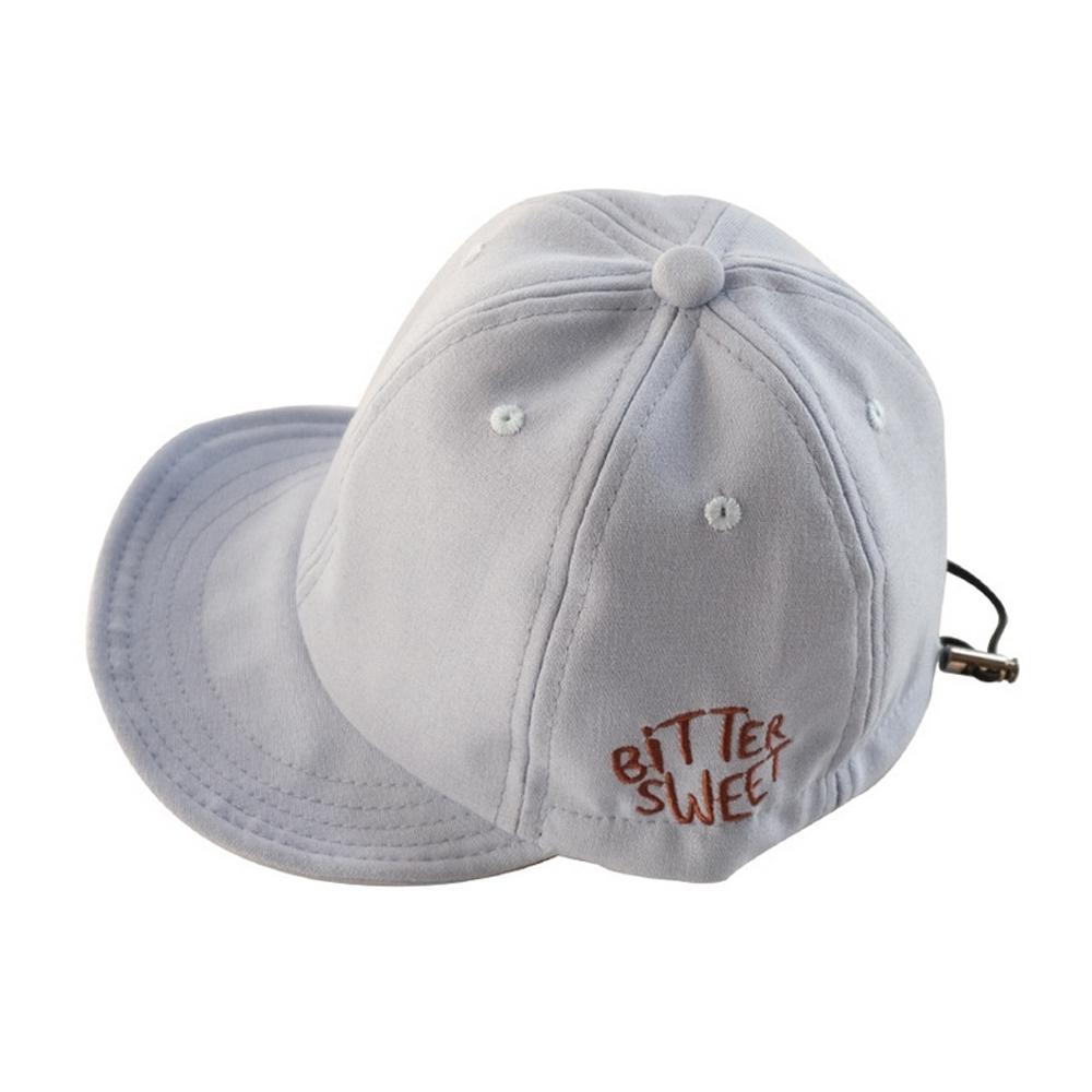 Baby童衣 韓版兒童帽子 字母鴨舌帽 寶寶戶外遮陽棒球帽 88291 product image 1