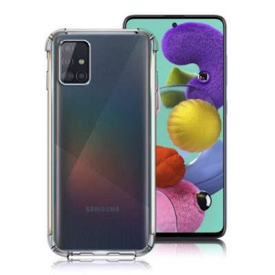 Xmart  for Samsung Galaxy  A51 清透高質感TPU+PC手機保護殼