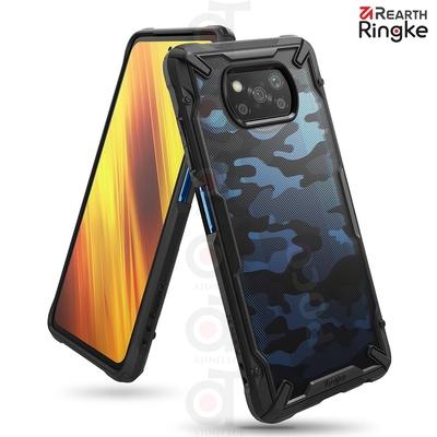 【Ringke】小米 Xiaomi POCO X3 Pro Fusion X 防撞手機保護殼(迷彩黑)