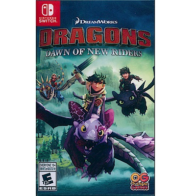 馴龍高手:新騎士的黎明 Dragons Dawn - NS Switch 英文美版