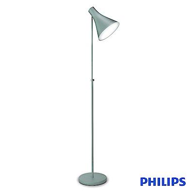 (福利品)飛利浦 PHILIPS LIGHTING 迪因落地燈-鐵灰色(42261)