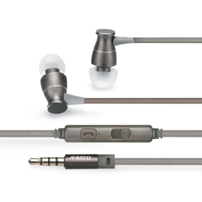 RASTO RS10 立體聲鋁合金入耳式耳機