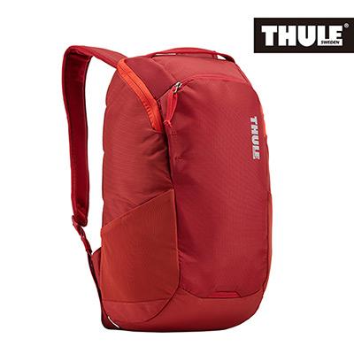 THULE-EnRoute 14L筆電後背包TEBP-313-緋紅