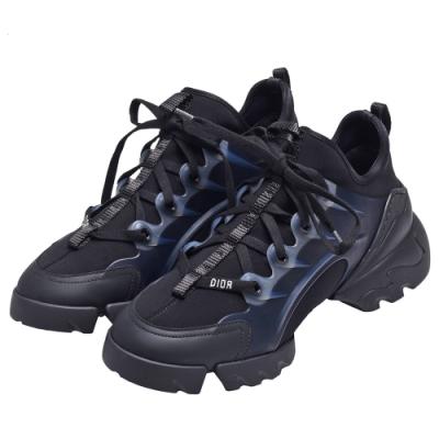 DIOR D-CONNECT系列氯丁橡膠運動鞋(黑)