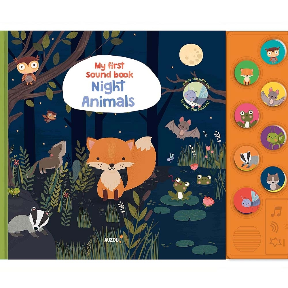 My First Sound Book:Night Animals 我的第一本有聲書:夜間動物篇