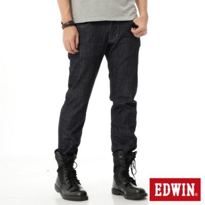 EDWIN EDGE LINE 雙口袋 中直筒牛仔褲-男-原藍色