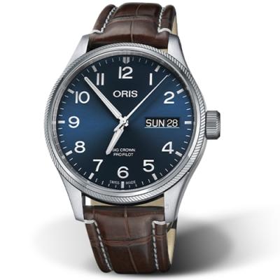Oris豪利時ORIS BIG CROWN PROPILOT機械錶