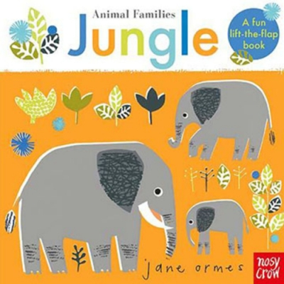 Animal Families:Jungle 動物家族:叢林篇趣味翻翻書