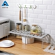 買一送一【AOTTO】多功能可伸縮 廚房 下水槽 置物架(簡易 方便 收納) product thumbnail 1