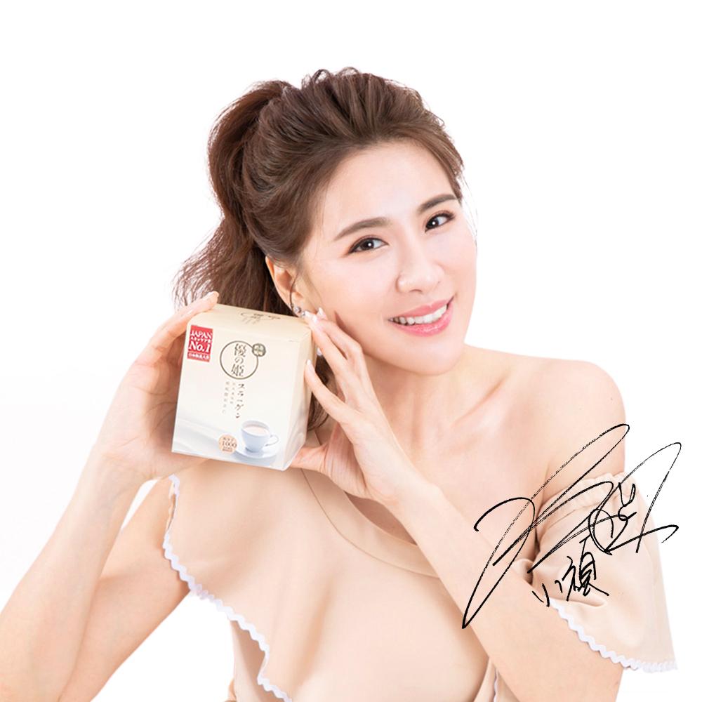優の姬 精純膠原蛋白粉-奶茶風味1盒(15包/盒)