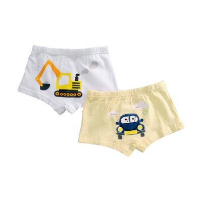魔法Baby 男童內褲(4件一組) 精緻舒柔彈性四角內褲  k51497