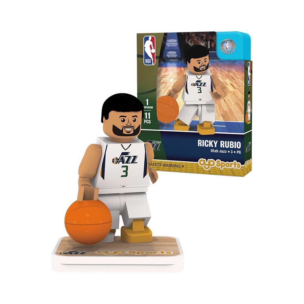 OYO Sports NBA 球員公仔 爵士隊 Ricky Rubio