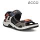 ECCO OFFROAD 越野亮彩戶外運動涼鞋男鞋-橘紅/灰色 product thumbnail 1