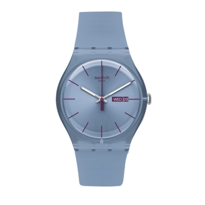 Swatch Rebel Aagin 系列手錶 SEA REBEL 反叛海藍 - 41mm