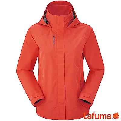 LAFUMA-女 WAY CT 防水外套-LFV113727603-橘紅