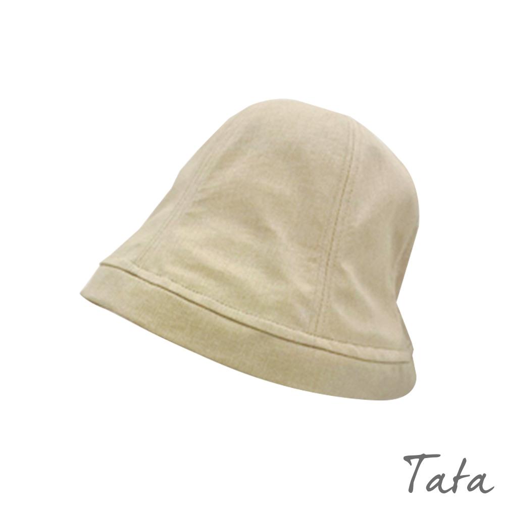 素面鬆緊帶遮陽帽 共二色 TATA