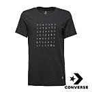 CONVERSE SOLAR 女短袖T恤 黑 10007513-A02
