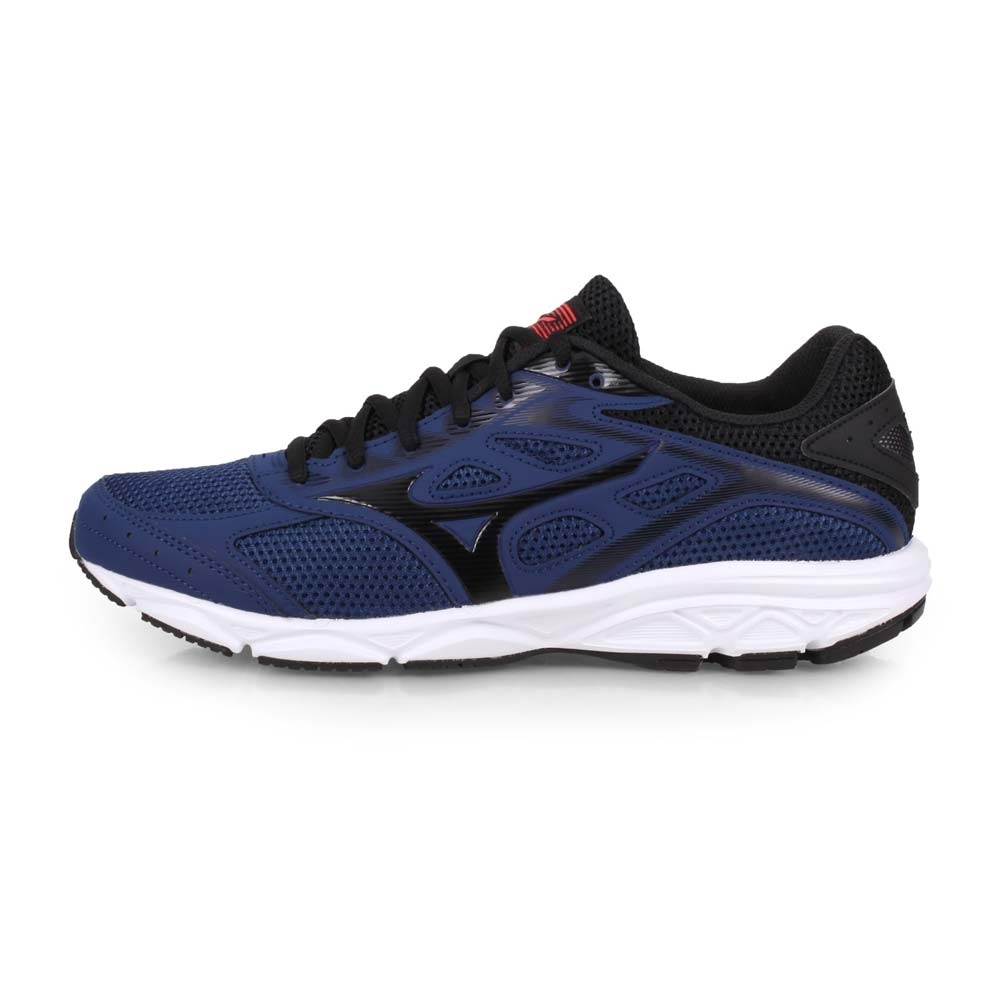 MIZUNO 男 慢跑鞋 SPARK 4 丈青黑