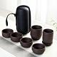EZlife 戶外旅行便攜茶具8件組-紫砂款 product thumbnail 2