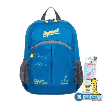 【IMPACT】後背包-貓頭鷹系列-藍色 IM00H07SB