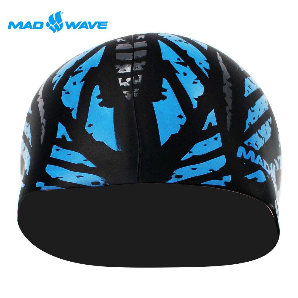 俄羅斯 邁俄威 成人矽膠泳帽 MADWAVE CRYSTAL