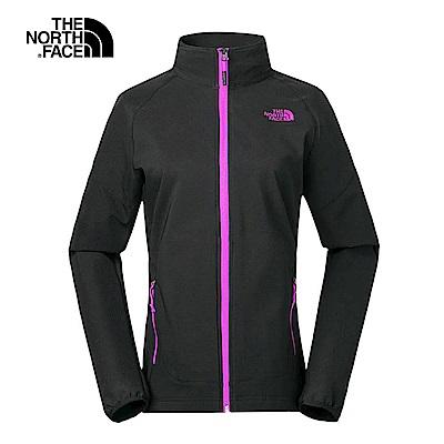 The North Face北面女款黑色舒適輕量風衣
