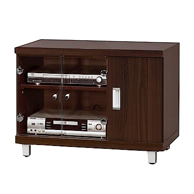 綠活居 舒莉時尚2.6尺二門電視櫃/視聽櫃-78x45x51cm-免組