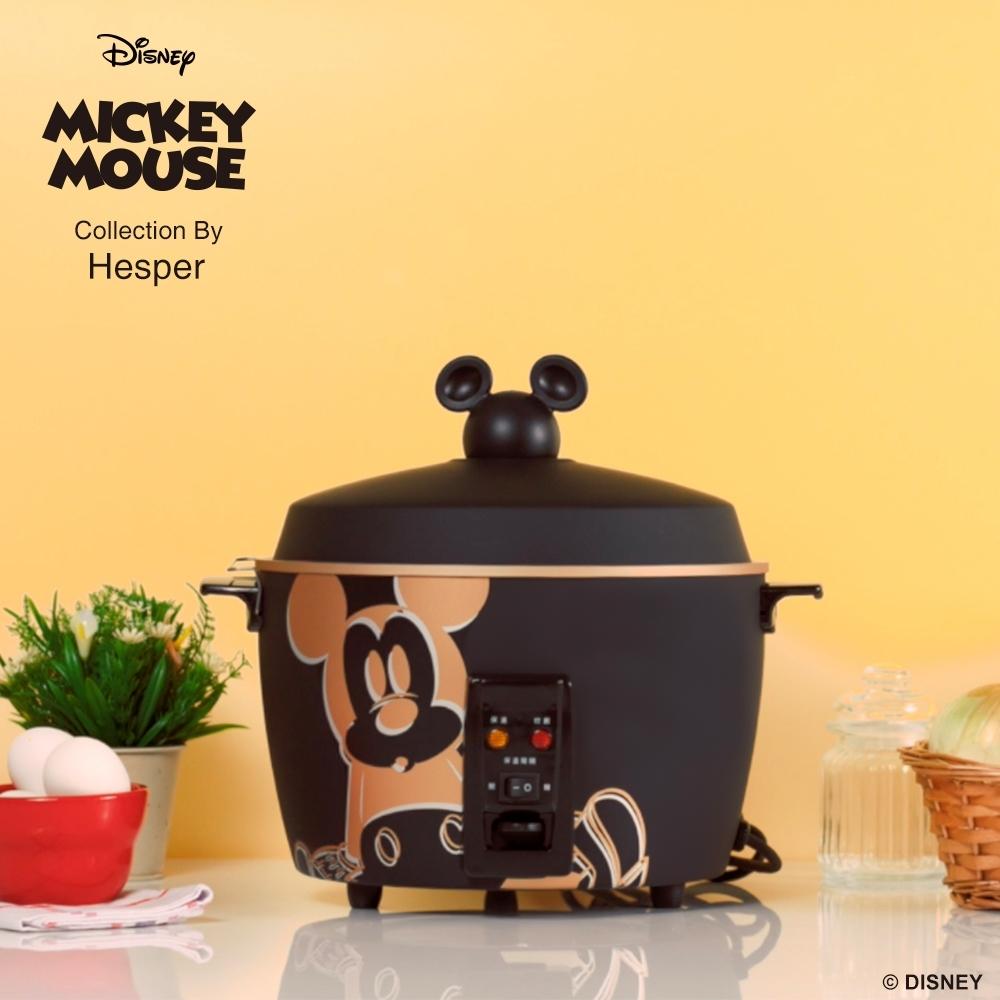 迪士尼米奇系列 11人份 304不鏽鋼電鍋-質感黑