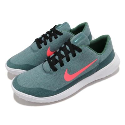 Nike 高爾夫球鞋 Victory G Lite 寬楦 男鞋 輕量 舒適 避震 包覆 球鞋 運動 灰綠 白 CW8227324
