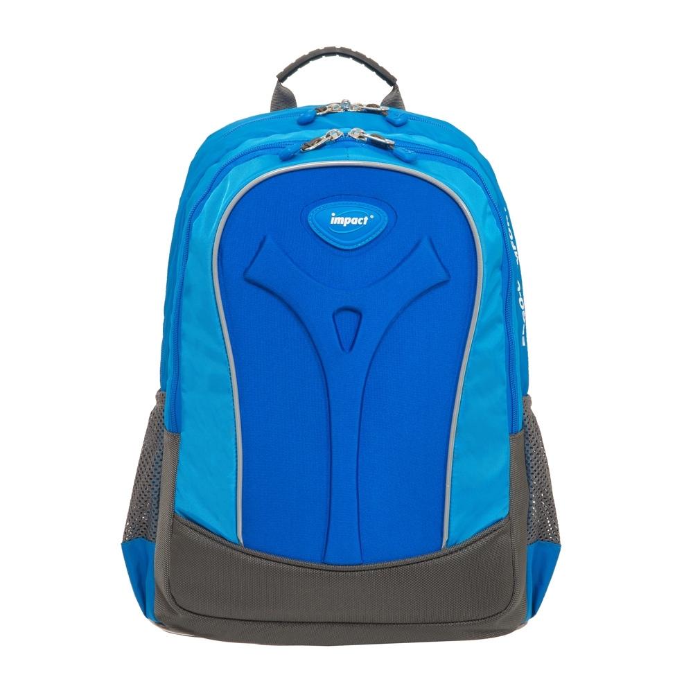 【IMPACT】怡寶新一代成長型輕量護脊書包-寶藍 IM00384RB