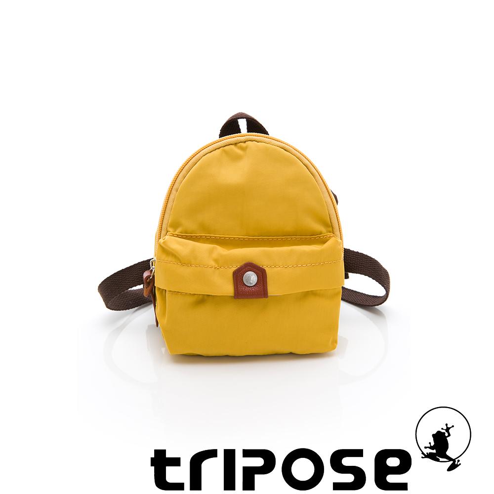 tripose MEMENTO系列尼龍輕量防潑水寵物背包-黃色
