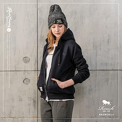 Roush 女生泰迪熊鋪毛連帽外套(4色)