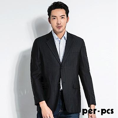 per-pcs 紳士商務經典直條紋西裝外套(85316)