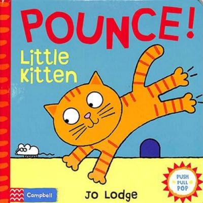 Pounce! Little Kitten 貓咪推拉書